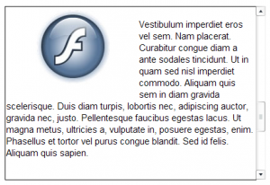 Hướng dẫn Flash miễn phí, Thành phần Flash, Nguồn ngoài với Thanh cuộn