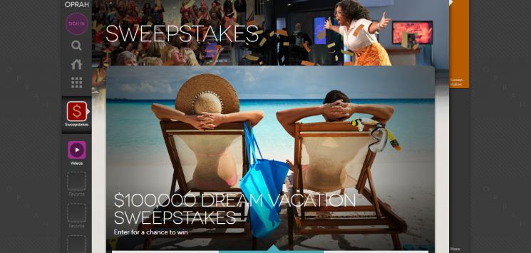 Oprad Sweepstakes