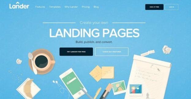 Top 10 mẫu landing page ấn tượng