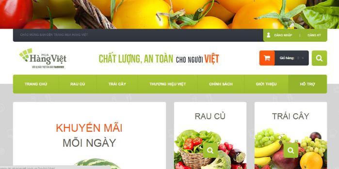 Tầm quan trọng của thiết kế website thực phẩm dinh dưỡng