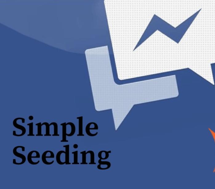Simple Seeding hiệu quả hơn với phương pháp làm tay thông thường