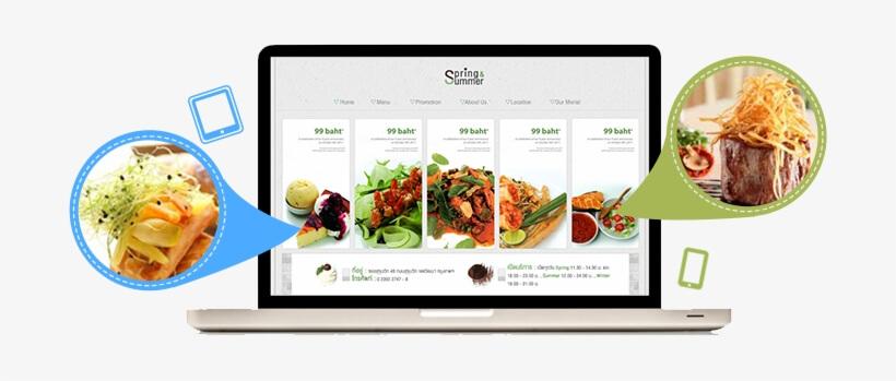 Khẳng định sự chuyên nghiệp từ website nhà hàng