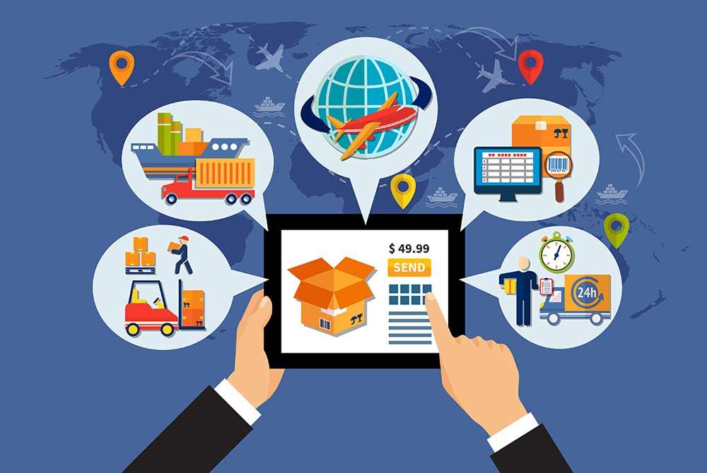 ứng dụng quản lý logistics
