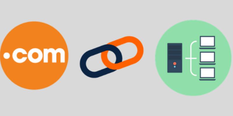 kết nối domain và hosting